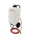 Wassertank mit angetriebenen halterung für Bohrmaschinen